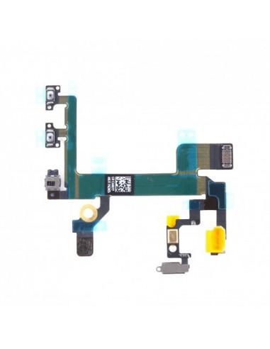 -nappeprisejackvibetvoliphone5s-Nappe prise jack, vibreur et volume iphone 5S