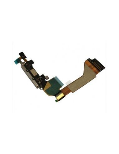 -nappeconnectchargeiph4-Nappe connecteur de charge iphone 4