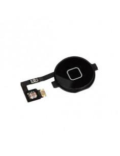 Bouton home pour iPhone 4 noir ou blanc avec nappe