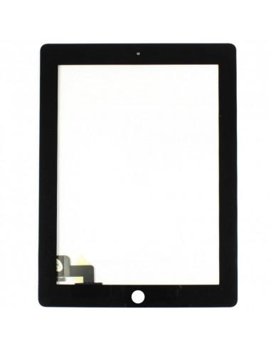 -vitretactilepouripad4-Vitre Tactile pour iPad 4 (noir ou blanc)