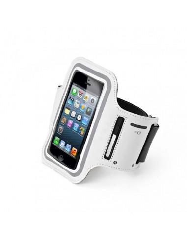 -brassardpouriphone5 -Brassard pour iPhone 5/5S Blanc