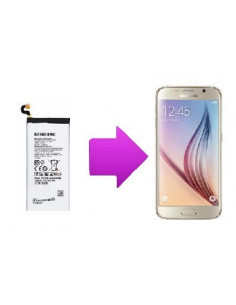 Changement batterie SAMSUNG Galaxy S6