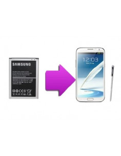 Changement batterie SAMSUNG Galaxy Note 2