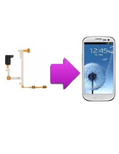 -changementnappeecvosams3-Changement Nappe écouteur volume Samsung Galaxy S3