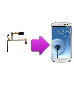 Changement nappe micro + ecouteur interne SAMSUNG Galaxy S3