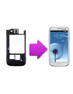 Changement chassis + lentille camera arriere Samsung Galaxy S3